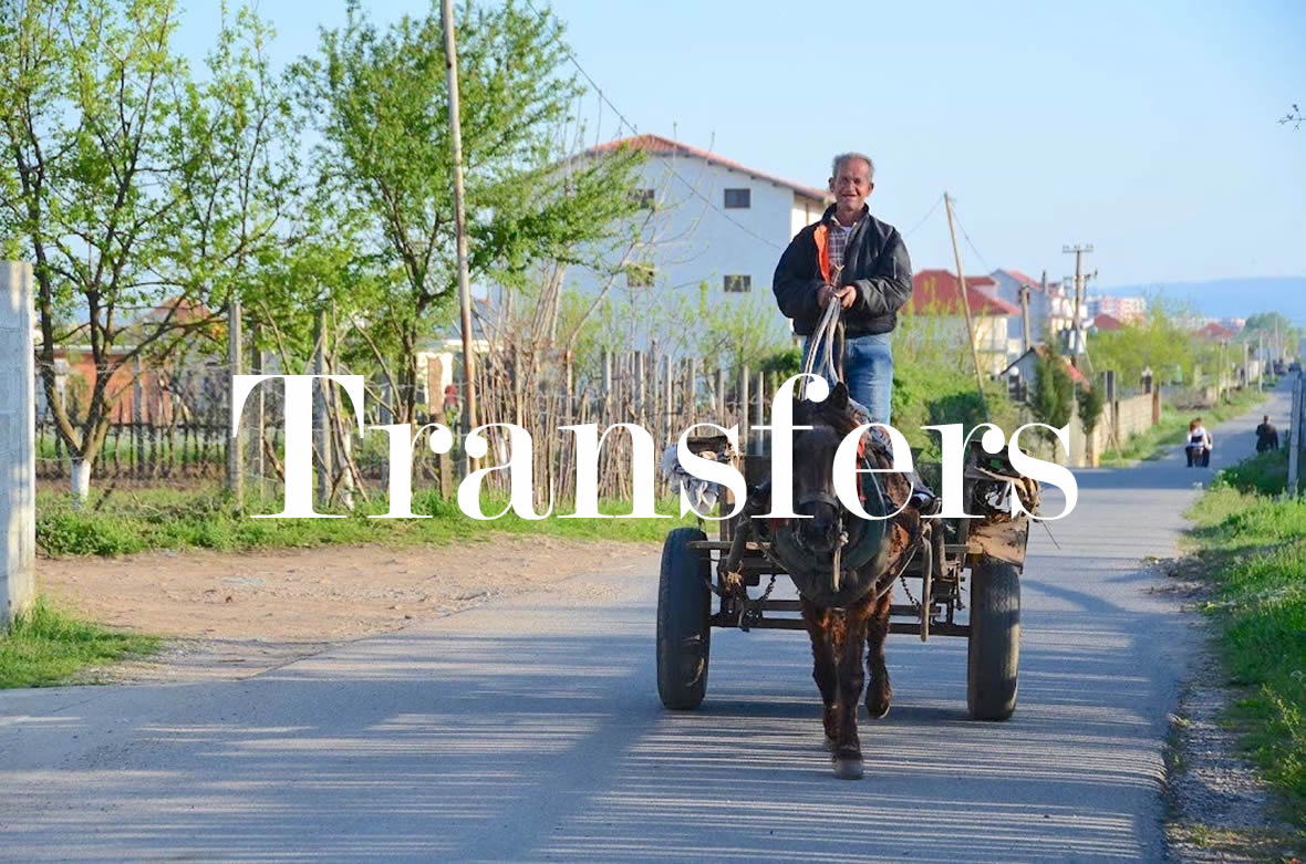 Transfers Transportation button North Albania Tours